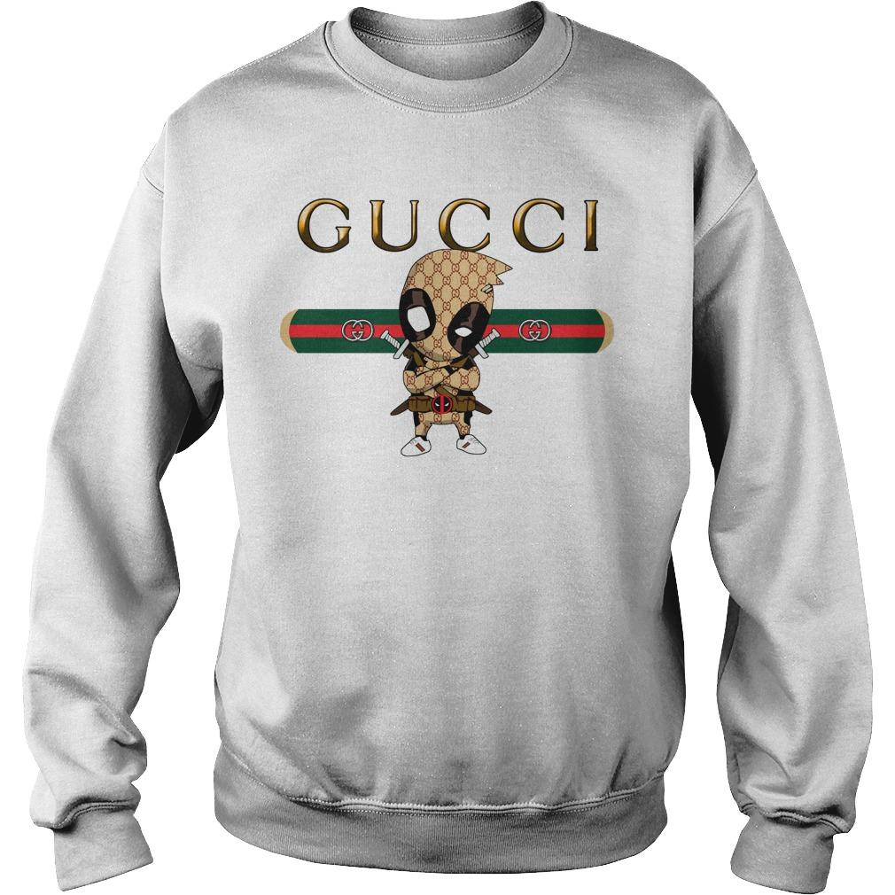 9cb365411b1 Official Gucci Deadpool sweater