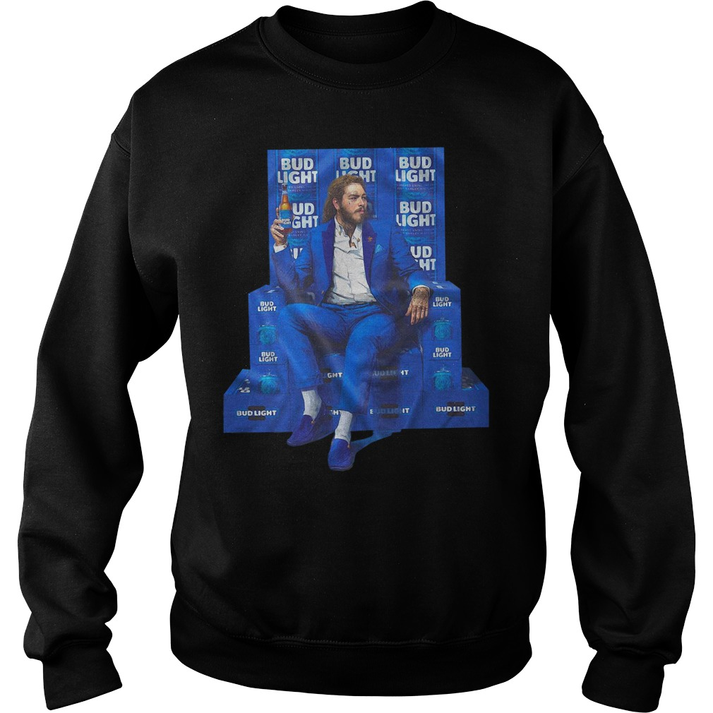 Official Post Malone Drink Bud Light Shirt Hoodie And Sweater
