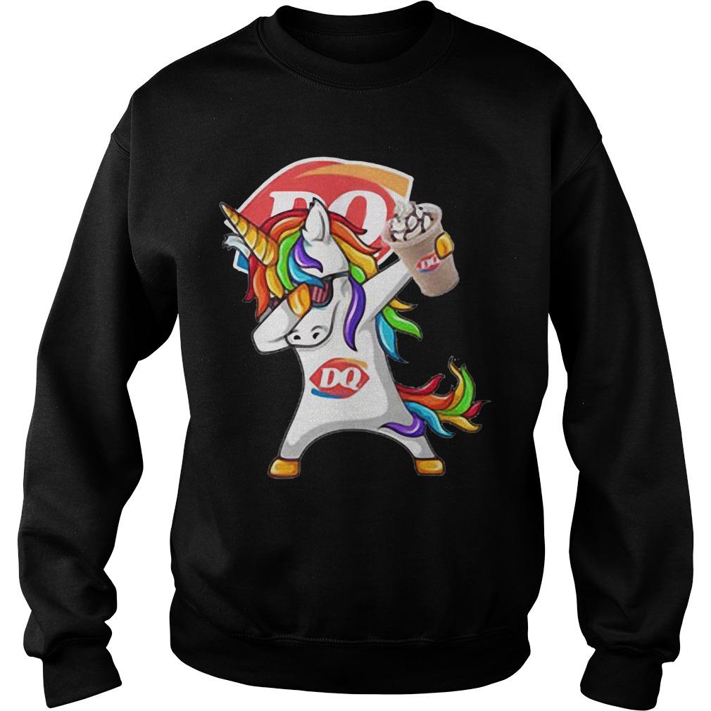 Unicorn Dairy Queen sweater