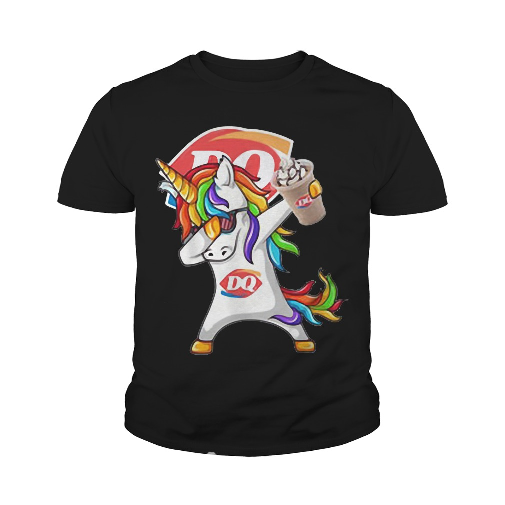 Unicorn Dairy Queen youth tee